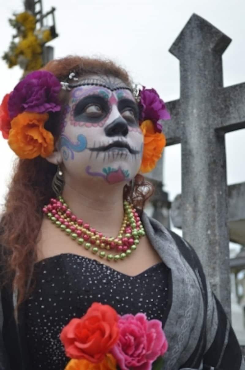 死者の日undefinedメキシコundefinedガイコツundefinedメイク