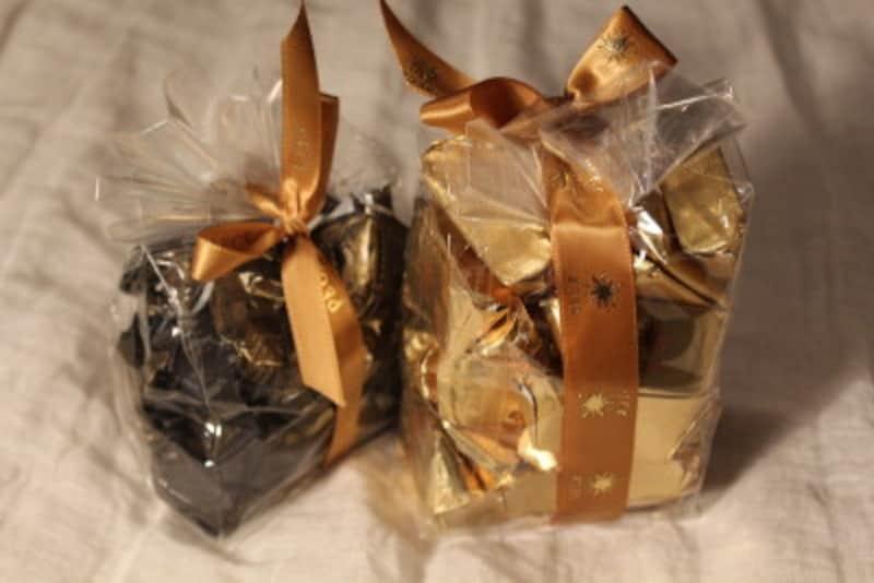 ひとくち大のチョコはcioccolatino、cioccolatini