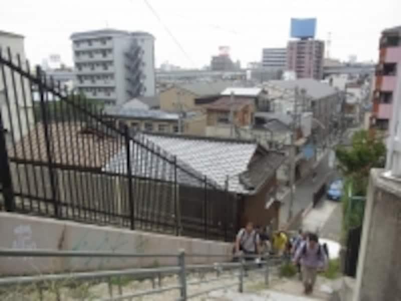四天王寺界隈の眺望