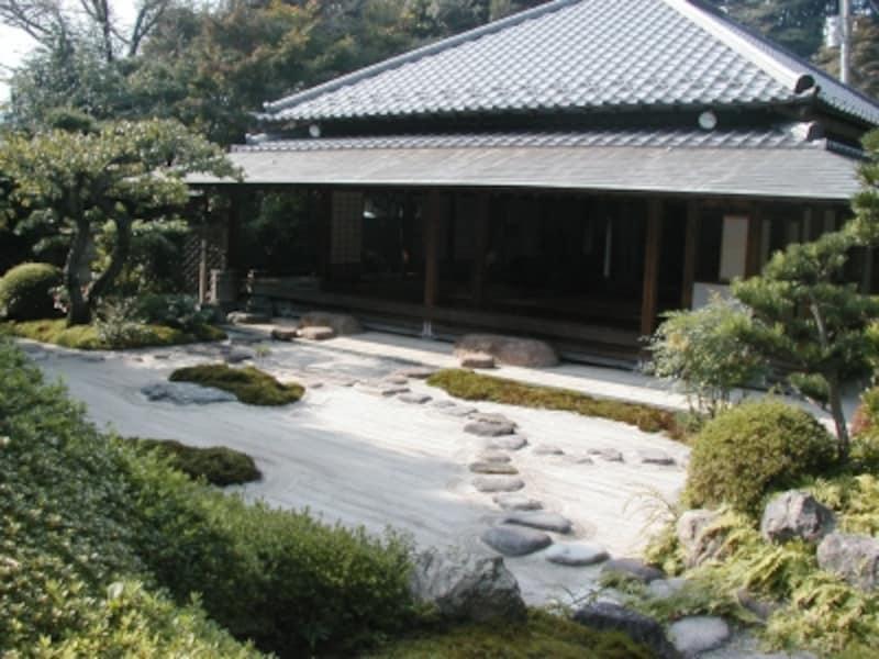 浄妙寺境内の茶室『喜泉庵』