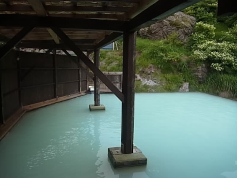 岩手側の須川高原温泉