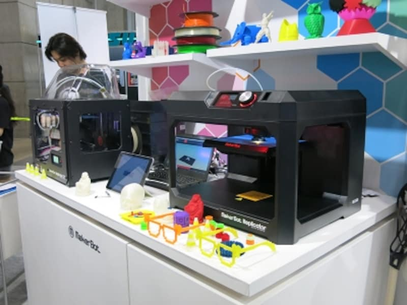 makerbotの3Dプリンターの画像undefined●クリックすると拡大します。