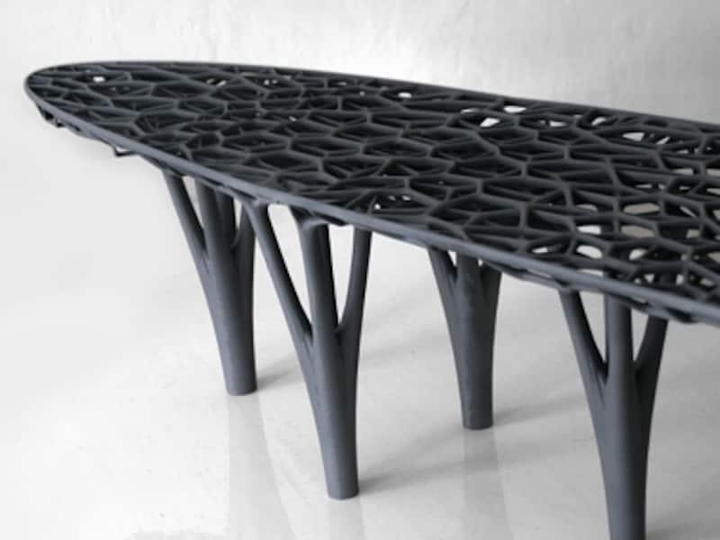 3Dプリンターによるデザインテーブルの画像(引用:cubifyのHP)undefinedundefined●クリックすると拡大します。