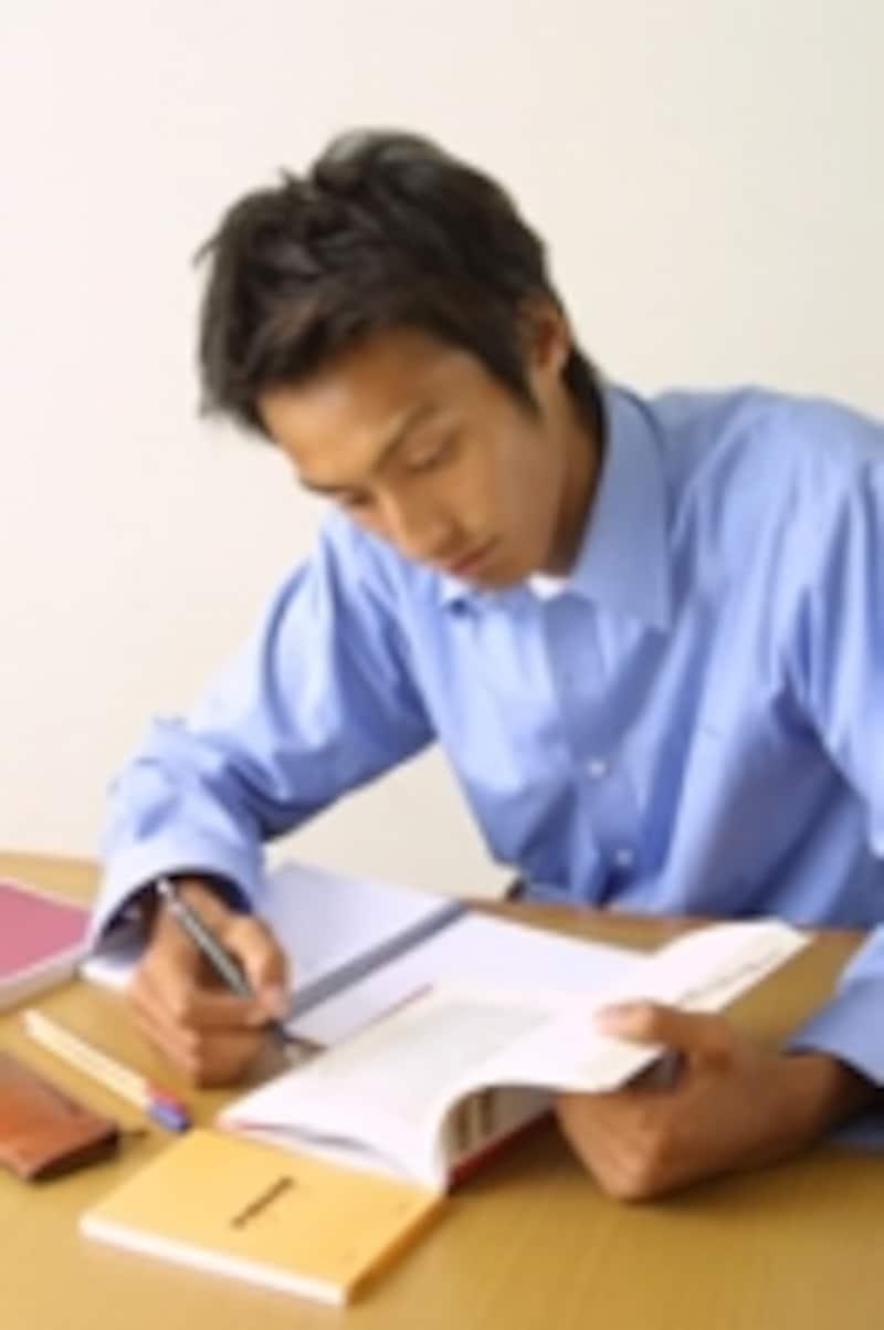 勉強シーン