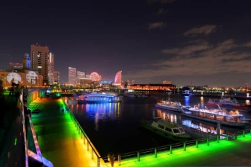 2013年度のスマートイルミネーション横浜
