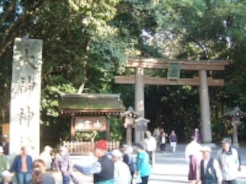 大神神社(3)/二の鳥居