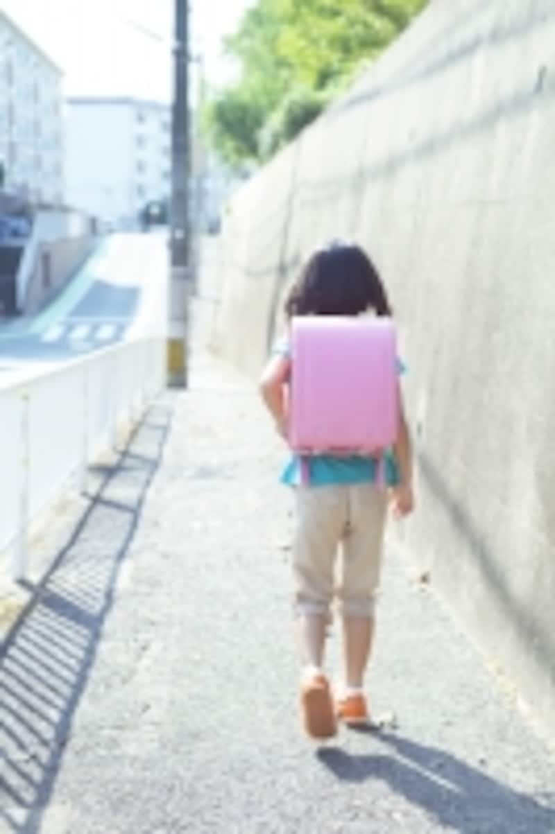 一人歩きの児童が気になる