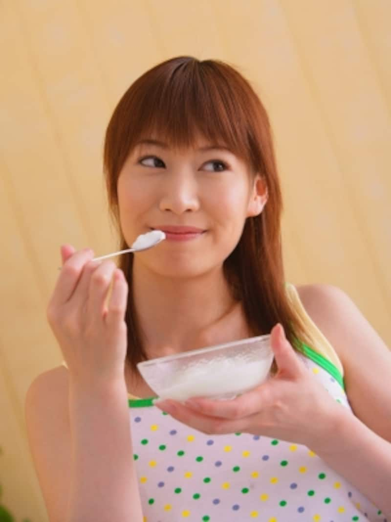 ヨーグルトを毎朝の習慣に取り入れて腸美人に!