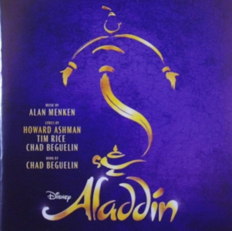 『アラジン』舞台版のCD。