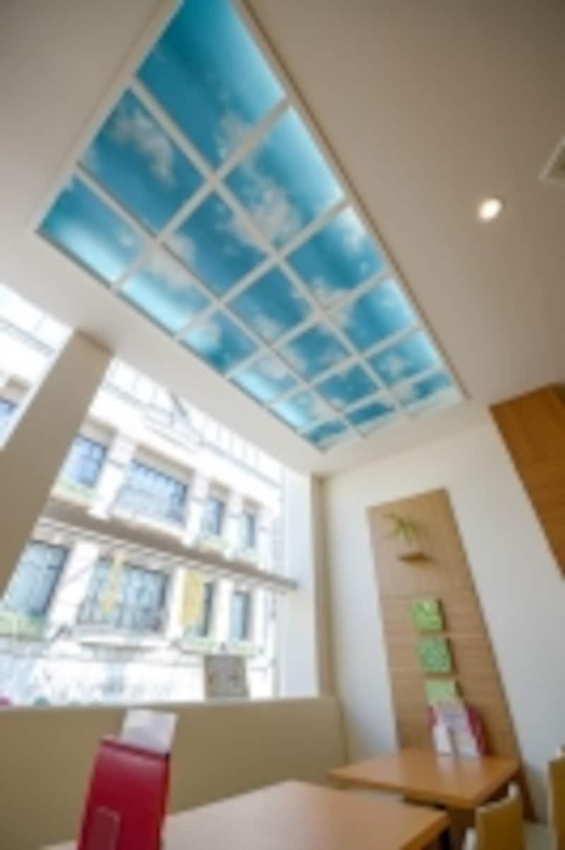 青空の天井