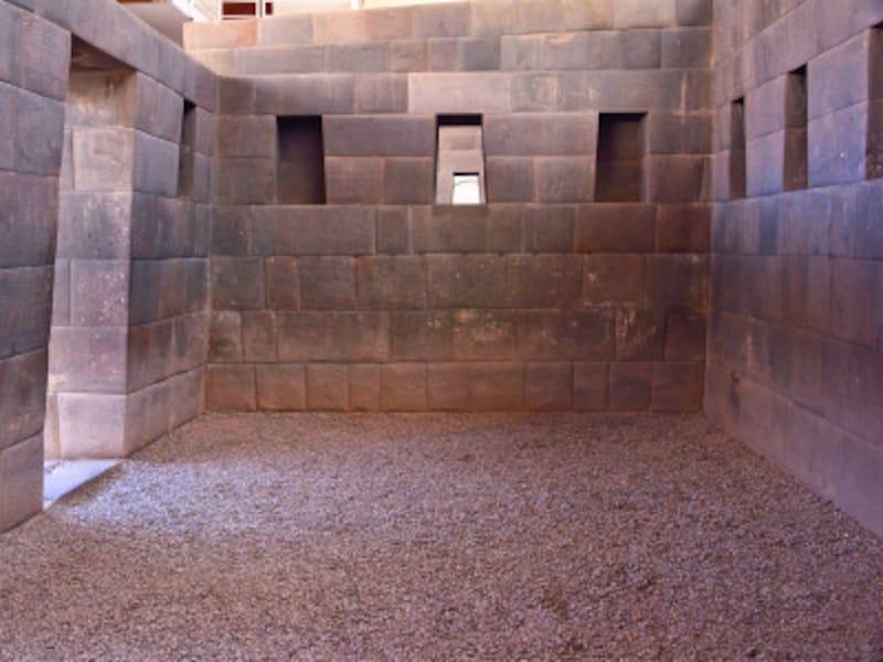 太陽神殿コリンカチャの石組