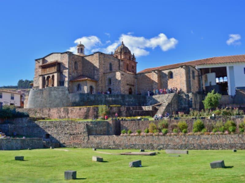 太陽神殿コリンカチャを取り壊して建てられたサント・ドミンゴ修道院