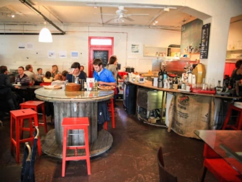 ベルゲンのカフェ