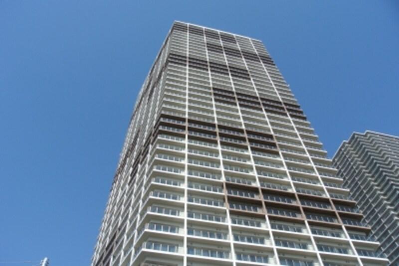グッドデザイン賞を受賞したパークタワー東雲