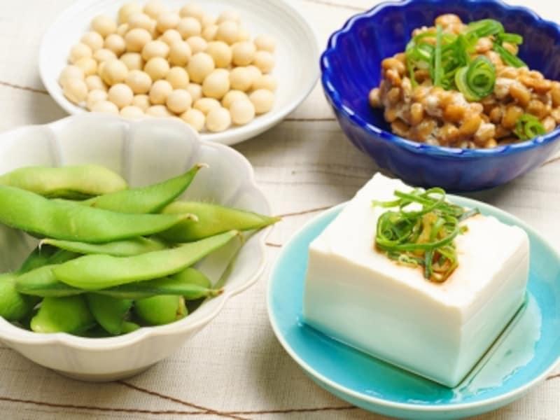 植物性のたんぱく質、大豆製品はヘルシーで◎
