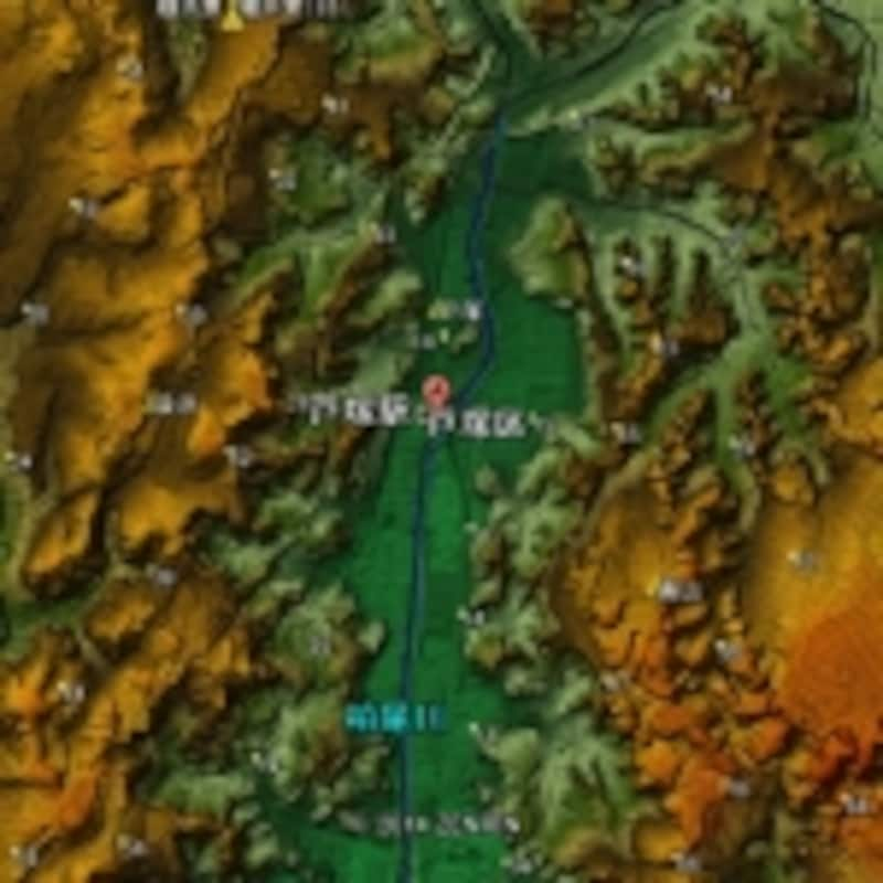 戸塚と柏尾川、周辺との関係