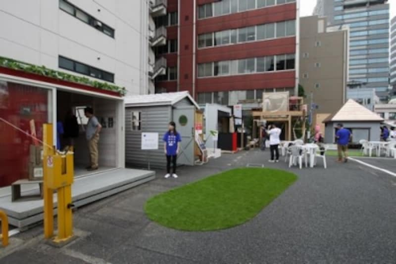 小屋展示場
