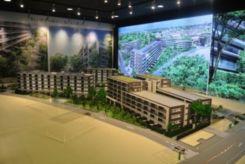シティテラス吉祥寺南の完成予想模型