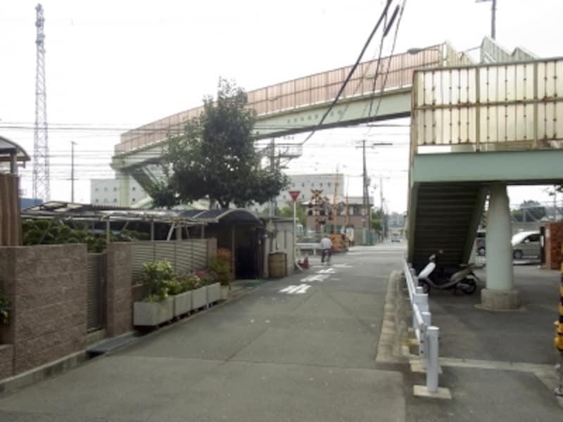 正雀、岸辺、大阪学院大学
