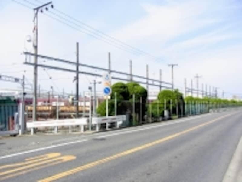 正雀工場、阪急、岸辺