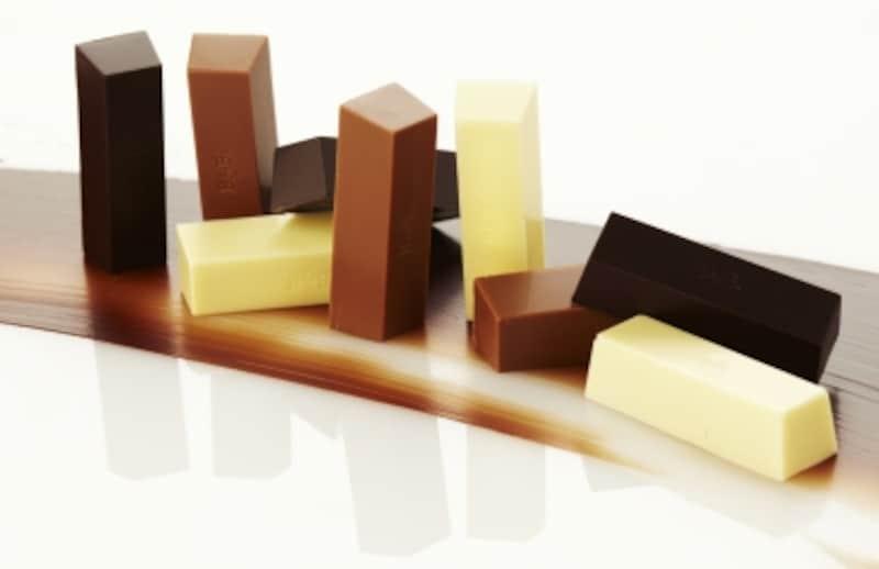 全て同じ形のチョコレート