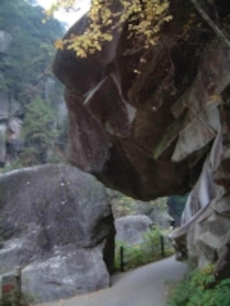 昇仙峡遊歩道・石門
