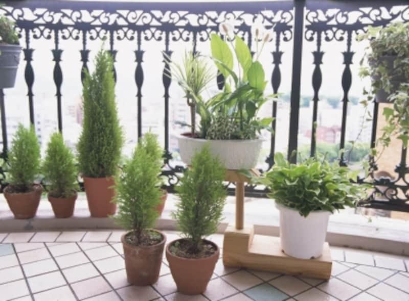 ベランダに置いてあるもの、植木鉢の台も足がかりになる可能性がある