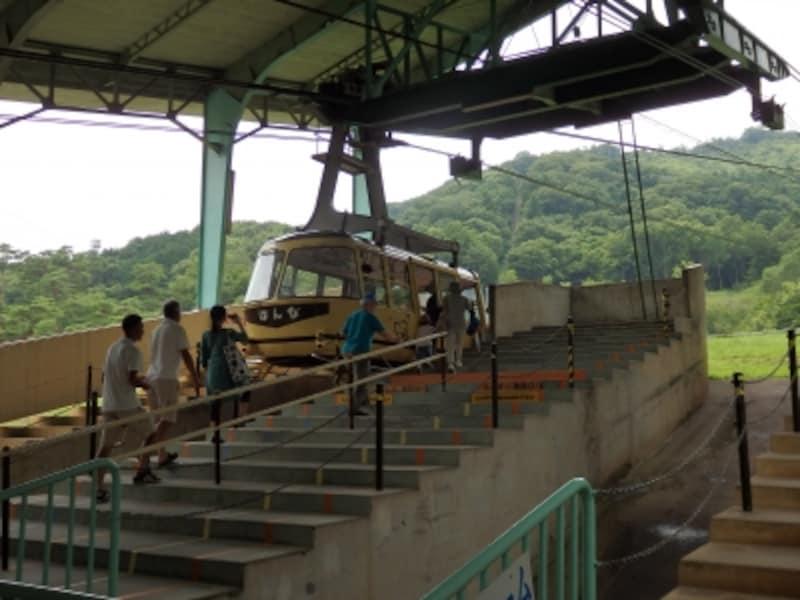 宝登山ロープウェイ山麓駅