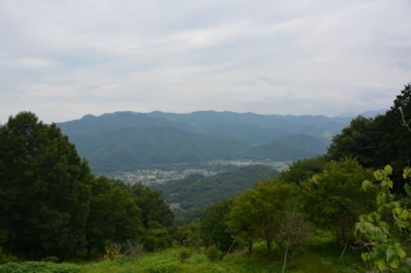 宝登山頂からの光景