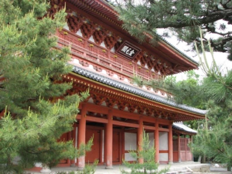 大徳寺『金毛閣』