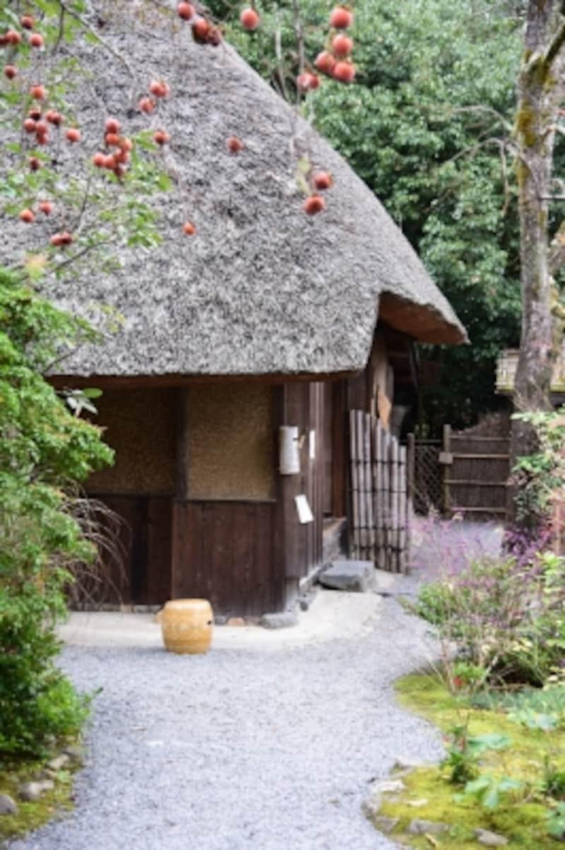 松尾芭蕉の弟子・向井去来が結んだ草庵の跡「落柿舎」