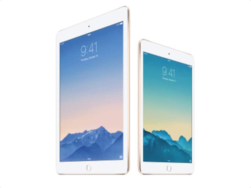 iPadAir2とiPadmini3