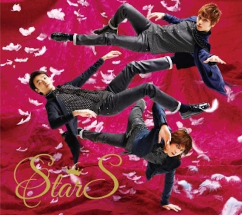 13年5月にリリースされたStarSの初ミニアルバム。6曲中3曲が「Gleam」などのオリジナル。ミュージカルナンバーは『ヘアスプレー』『オペラ座の怪人』『ジキル&ハイド』で、それぞれ3人の声を活かしたアレンジで楽しめる。PVやインタビュー収録のDVD付のエディションも有り。avexio