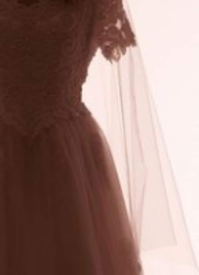 ドレスから見えている部分が綺麗であればまず合格!