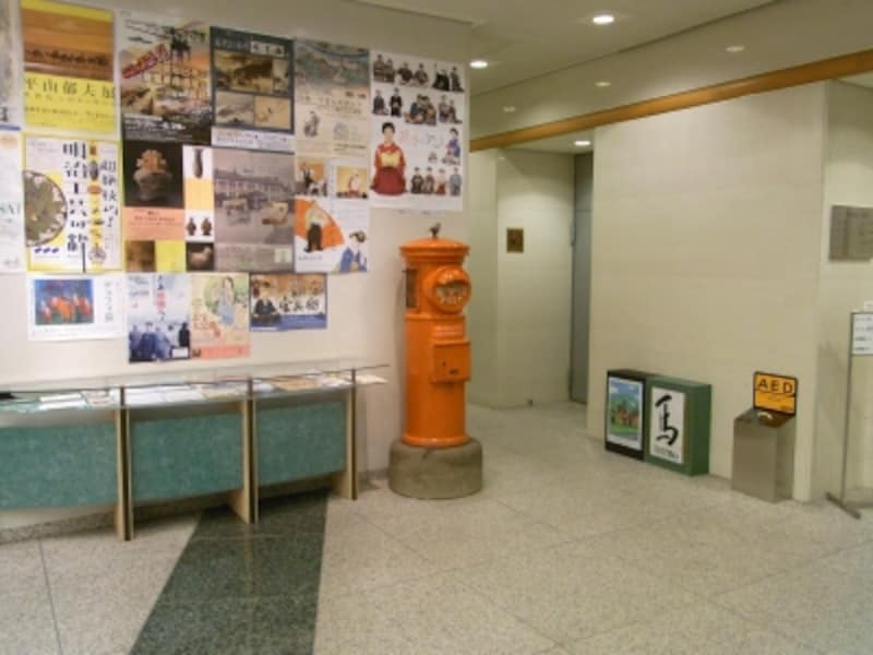 切手の博物館入口