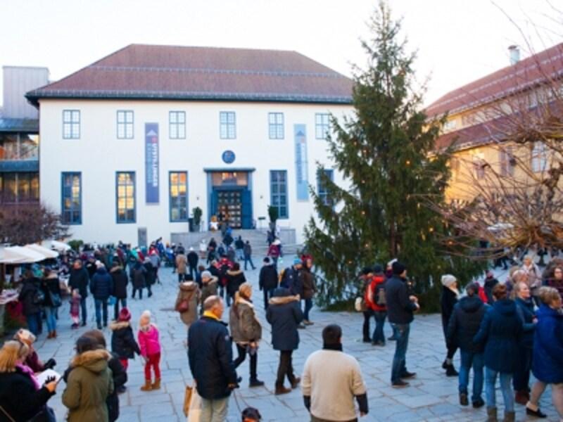 民族博物館のクリスマスマーケット