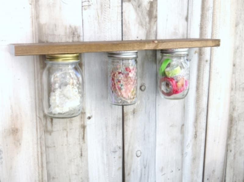 色々なガラスボトルで作れます