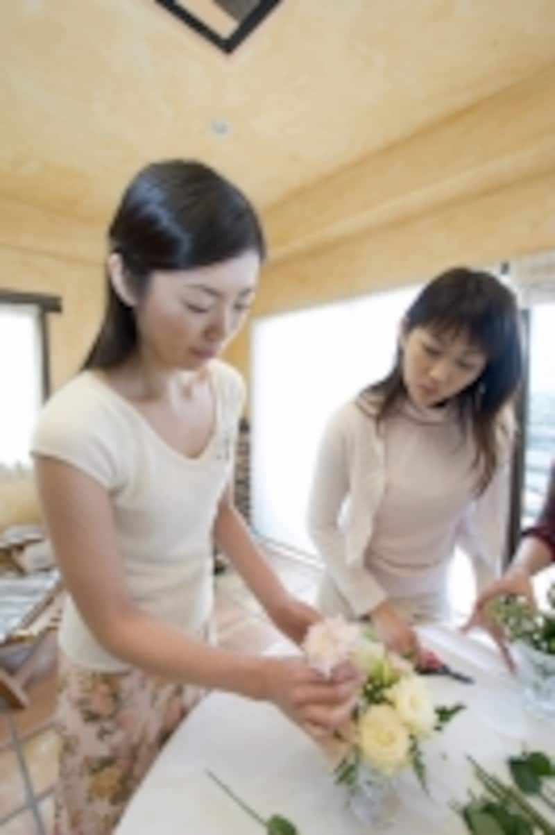 お料理、アロマ、お花、お習字、英会話…自宅で教室を開けたらいいですね