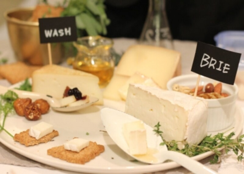 こんな素敵なチーズプラトーも