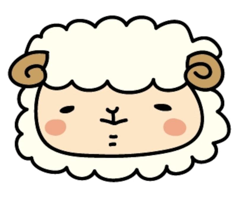 【カラー】羊の男の子です。