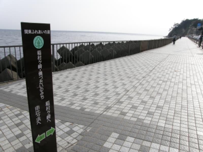 稲村ヶ崎・磯づたいの道