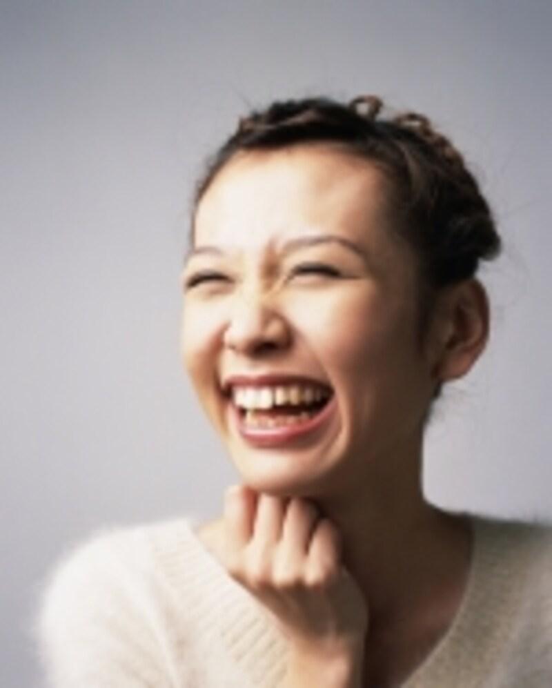 笑顔も安定
