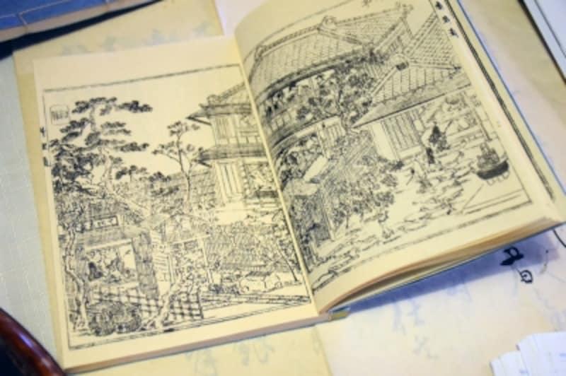 四代目・善四郎著『江戸流行料理通』に描かれた八百善の様子