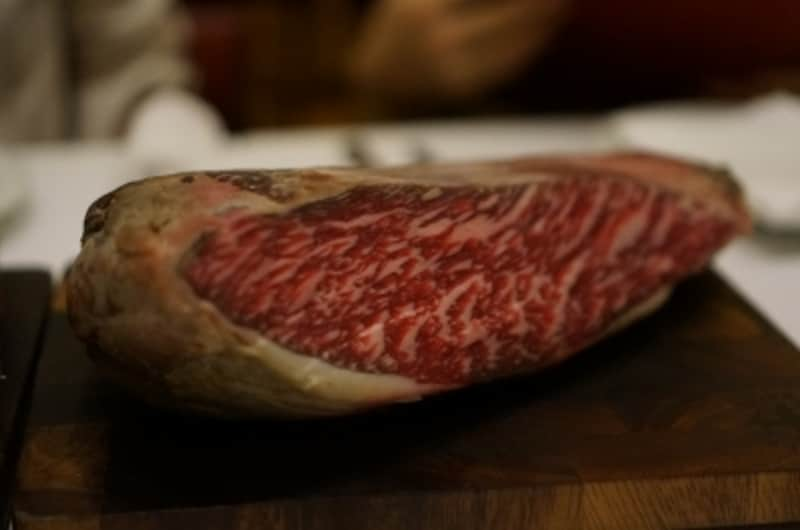 300日熟成の肉