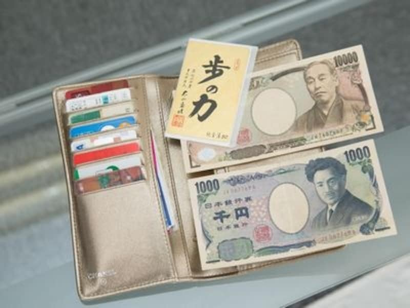 ゴールドの財布で金運が上昇?