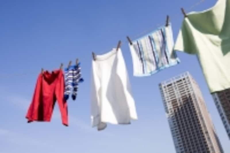 洗濯物で家族構成が分かる!