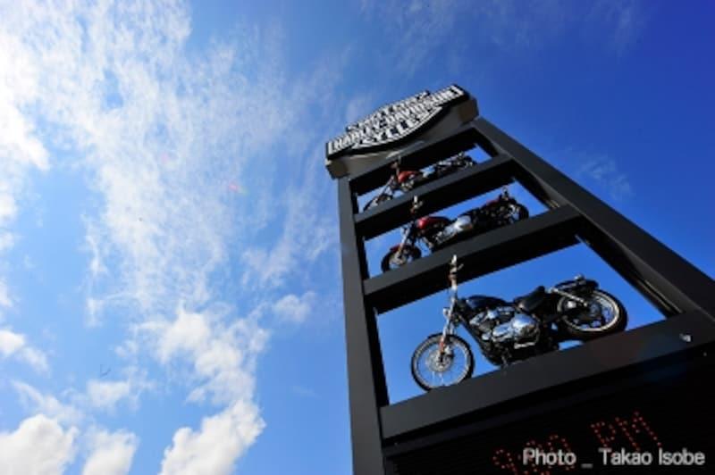 アメリカのカルチャーそのものを具現化しているハーレーダビッドソン。このオートバイに乗ることで得られる価値観は計り知れません。