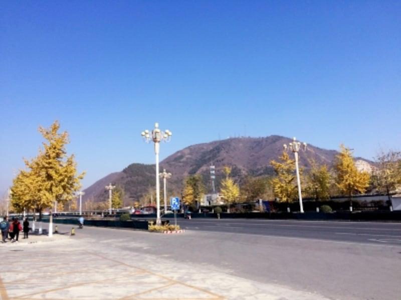 北京原人「周口店の景観」