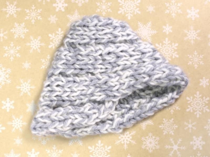 指編みで帽子も作れます!