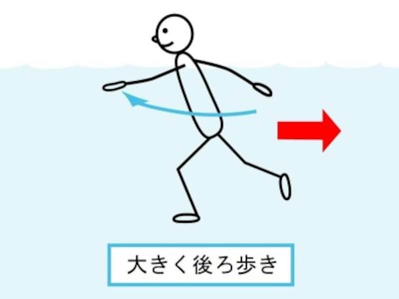 腕を動かすことで肩甲骨周りが動き、脚は水中の不安定さがよいエクササイズになる